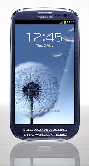 The Sugar Photography(SUGARHK.COM) 攝影新聞。Galaxy 的粉絲對 Galaxy S III 引頸以待,終於在英國倫敦發表了,本網率先收到從英國寄來的資料及產品照片,讓大家看看 Galaxy S III 的真身。